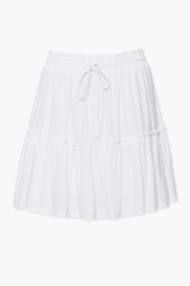 Forever 21 Tiered Peasant Mini Skirt