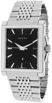 Gucci YA138401 Men's G-Timeless Silver Stainless Steel Watch