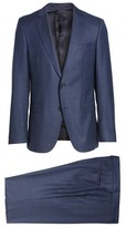 BOSS Men's Novan/ben Trim Fit Solid Wool Suit