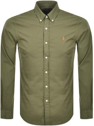Ralph Lauren Featherweight Twill Shirt Green