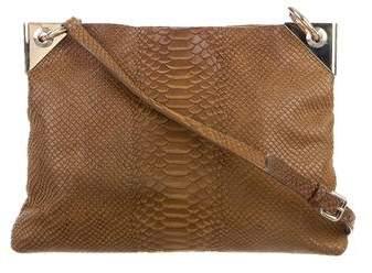 Henri Bendel Embossed Shoulder Bag