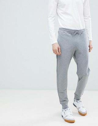 Paul Smith logo sweat joggers in grey
