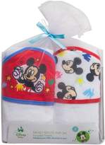 Disney Baby Mickey Mouse 2 Piece Hooded Towel Gift Set