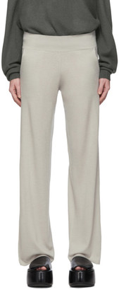 BEIGE Frenckenberger Cashmere Wide Lounge Pants
