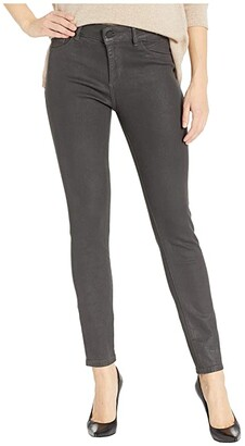 DL1961 Florence Mid-Rise Instasculpt Ankle Skinny in Pewter (Pewter) Women's Jeans