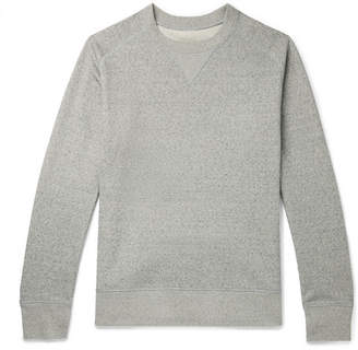 Melange Home Secondskin Loopback Cotton-Jersey Sweatshirt