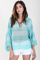 Goddis Kylie Pullover In Sweetwater