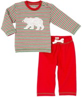 Hatley Winter Stripe Track Pant Set (Baby Boys)