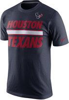Nike Men's Houston Texans Team Stripe T-Shirt