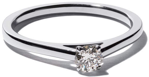 De Beers My First DB Classic solitaire diamond ring