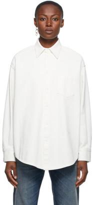MM6 MAISON MARGIELA Off-White Bull Circle Shirt