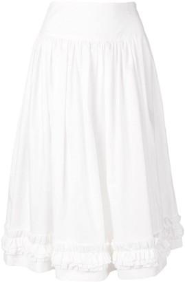 Molly Goddard ruffled skirt