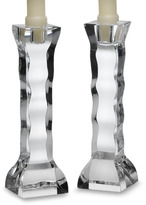 Orrefors Crystal Cruise Candlestick Pair