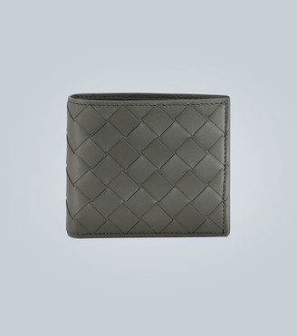 Bottega Veneta Folded leather wallet