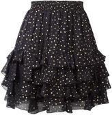 Just Cavalli dotted print skirt - women - Silk/Viscose - 40