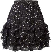 Just Cavalli dotted print skirt