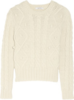 Carven Braided wool-blend sweater