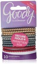 Goody Slideproof Hair Tie Elastics, (Pack of 3)