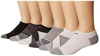 Nike Everyday Cushion No Show Training Socks 6-Pair Pack (Multicolor) Women's No Show Socks Shoes