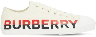 Burberry Logo Larkhall Canvas Sneakers
