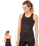 Women's Shape Active Gravel T-Back Mesh Workout Tank