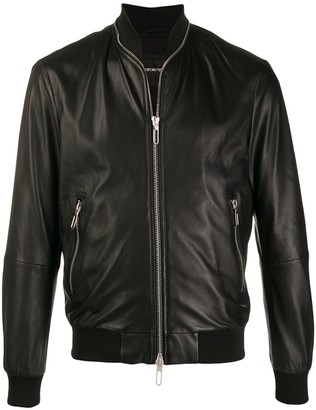 Emporio Armani Zip-Around Bomber Jacket