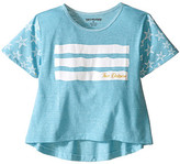 True Religion Stars & Stripes Drape Tee (Toddler/Little Kids)