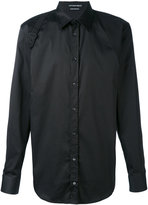 Alexander McQueen Harness shirt - men - Cotton/Polyamide/Spandex/Elastane - 15 1/2