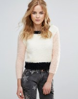 Glamorous Color Block Sweater