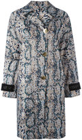 Kenzo lightweight volume trench coat - women - Polyester - XS