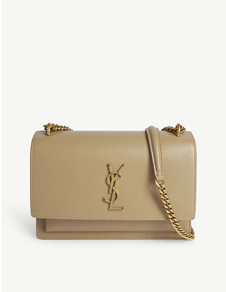 Saint Laurent Monogram Sunset medium leather cross-body bag