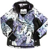 Molo Waterproof Printed Nylon Ski Jacket