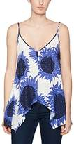 Warehouse Women's Sunflower Hanky Hem Vest Top
