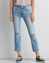 American Eagle Outfitters Hi-Rise Kick Crop