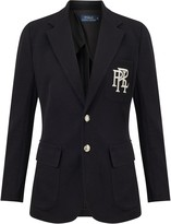 Ralph Lauren Polo Knit Cotton Blazer