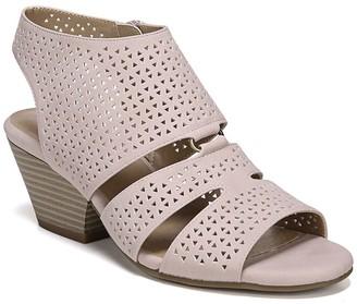 Soul Naturalizer Dez Laser Cut Block Heel Sandal - Wide Width Available