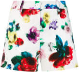 Love Moschino floral pixel shorts