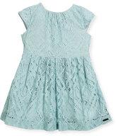 Burberry Ramona Lace Dress, Size 4-14