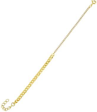 Adina's Jewels Chain Link Tennis Bracelet