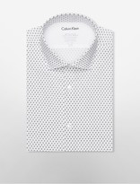 Calvin Klein X Fit Ultra Slim Fit Diamond Dress Shirt