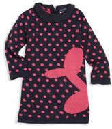 Andy & Evan Toddler's & Little Girl's Collared Polka Dot Dress