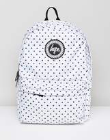 Hype Backpack In Polka Dot Reversible