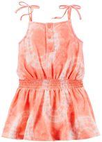 Carter's Toddler Girl Tie-Dye Smocked-Waist Jersey Dress