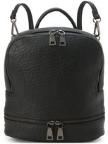Urban Expressions Black Stevie Convertible Backpack