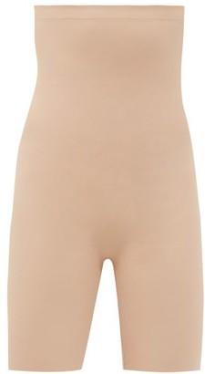 Commando Classic Control High-rise Shaping Shorts - Beige