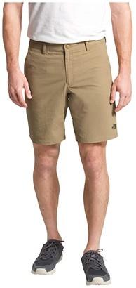 The North Face Flat Front Adventure 7 Shorts (Kelp Tan) Men's Shorts
