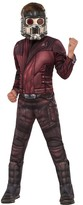 Rubie's Costumes Guardians of The Galaxy Deluxe Star-Lord Muscle Chest Costume (Little Boys & Big Boys)