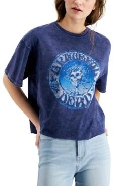 Junk Food Clothing Grateful Dead Graphic Print Cotton T-Shirt