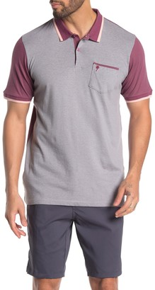 Trunks Surf And Swim Co. Novelty Colorblock Golf Polo