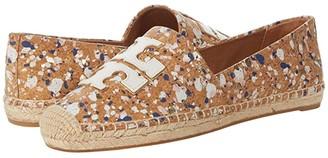 Tory Burch Ines Espadrille (New Cream/New Cream/Gold) Women's Shoes